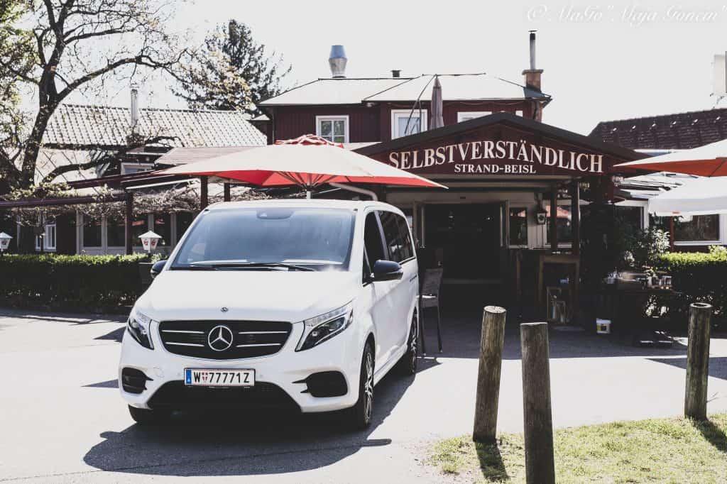 Gäste taxi und Auto für den Lieferservice
